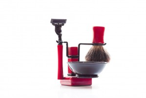 RBSB-Red- Axwell 4 pcs Shaving in Red